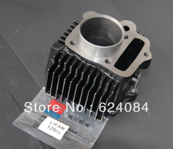 engine parts, Lifan 125 cylinder kit(China (Mainland))