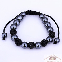 Free Shipping Fashion Shamballa Strand Bracelet  Best Gift    Factory Price Wholesale