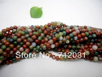wholesale Natural India Agate For DIYJewelry Beads One String  4*6*8*10*12*14mm Buyer Can Choose Size
