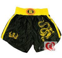 free shipping Game Sanda pants/Sanda embroidered dragon shorts/Boxing Fight Muay Thai shorts/Martial Arts Shorts