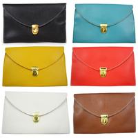 Gothic Womens Envelope Clutch Chain Purse Messenger Bag Shoulder Hand Bag  SP0190