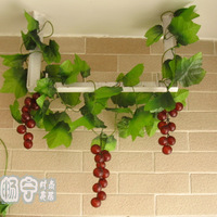 new arrival Grape belt rattails artificial plants ceiling artificial flower vine decoration flower artificial flower silk flower