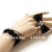 Free Shipping Min Order is $15 (mix order ) The Latest Hotsale Crystal Crown Lace Bracelet  With Ring