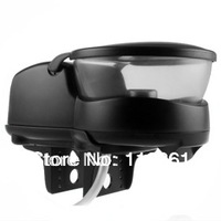Hot Sell wholesale Electronic timing Automatic Aquariums Fish Feeder Black