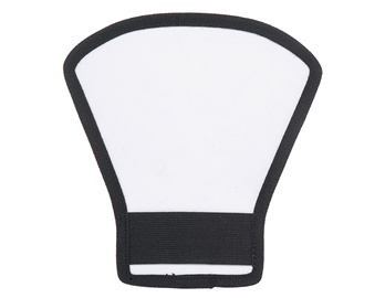Multi-Functional Set-Top Flash Light Barrier Reflector (Silver + Black)