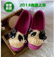 2013 spring female single shoes child bear princess shoes single shoes