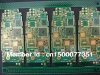 Multilayer printed circuit board PCB single/double panel processing proofing custom make to order(China (Mainland))
