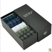 Summer socks male 100% cotton summer thin knee-high cotton socks comfortable breathable gift box set