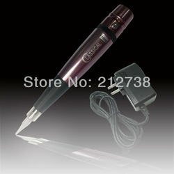 Aluminum &amp; Steel permanent tattoo makeup Cosmetic pen machinehigh speed - Adjust needle length machine Free Shipping(China (Mainland))