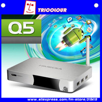 Free shipping HiMedia Q5 Android 4.0 Media Player Smart Google TV Box ARM Cortex A9 1GHz 1080P Full HD #A110014