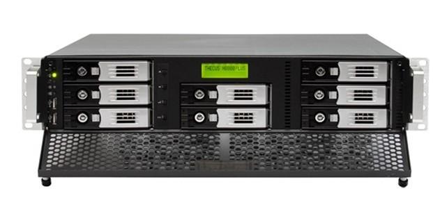 N8800PRO v2 10GbE Ready 2U Power Storage Server Network Storage 8-Drive Date Quard/Share/Remote Access(China (Mainland))
