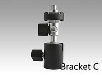Free Photo Studio Accessories  Multi-functional C-Pod Flashlight Tripod/Stand Mount for Camera Hot Shoe Flash