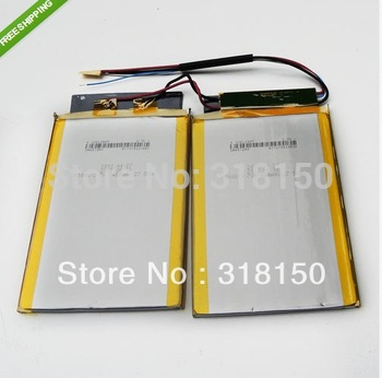 COSLIGHT 2*CA4572A0 A100S 3.7V 2*7450mAh Li-Polymer Rechargeable Battery 1pcs/lot