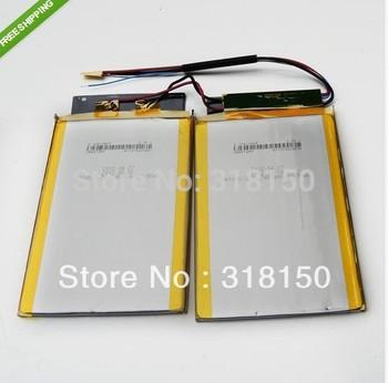 COSLIGHT 2*CA4572A0 A100S 3.7V 2*7450mAh Li-Polymer Rechargeable Battery 1pcs/lot