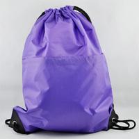 Gym Swim School Dance PE Drawstring Duffle Sport backpack Bag  high-capacity shoe bag portable backpack belt tension