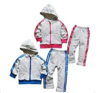 wholesale new arrive children tracking sport suit two pcs set 5 size good quality 5 pcs /lot children clothing sets