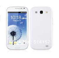 "Free shipping hot sell 4.0"" Screen i9300 S3 pxphone Dual Sim Cards Dual Camera WiFi TV mobile phone"