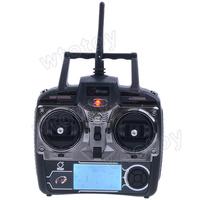 "4Ch 2.7"" LCD Transmitter/ Controller Set Parts For WLToys V911 V912 V929 V939 V949 RC Helicopter 18650"