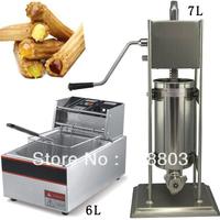 2 in 1 7L Spainish Churro Maker Machine + 6L Electric Deep Fryer