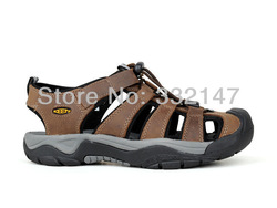 Free Shippng Wholesale 2013 Fashion Sandals Newest Brand Outdoor Hiking Discount sandals shoes size39-44 men summe sandals(China (Mainland))