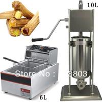 2 in 1 10L Spainish Churro Equipment + 6L Electric Deep Fryer