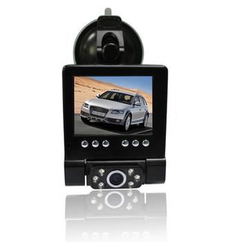 Original L1000 HD 1280x720 Car Camera w/H.264/2.8' TFT LCD/TV-Out/Extra AV-in black box dvr LEDs/110 Degrees Wide Lens