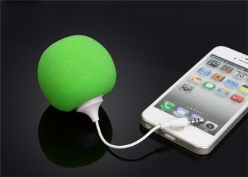Multi-Color Creative Mini Music Balloon Speaker Cute Music Ball for MP3 MP4 Cell Phone ipod 250pcs/lot+Free shipping