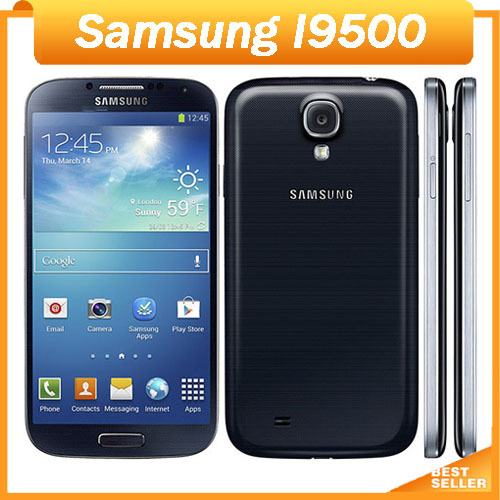 Samsung Galaxy S4 I9500 mobile phone Wifi GPS NFC 3G 13 MP Camera Android 4.2 cell phone(China (Mainland))