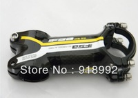 2013 NEW Yellow carbon fibre stem 31.8*90mm 100mm 110mm Free Shipping