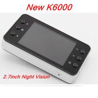 "Plastic Case K6000 1080P Car DVR 2.7"" LCD Recorder Video Dashboard Vehicle Camera w/G-sensor/NOVATEK chipset PK Sunplus chipset"