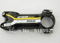 2013 NEW Yellow FSk carbon fibre bike bicycle  stem 31.8*90mm 100mm 110mm Free Shipping 5pc/lot