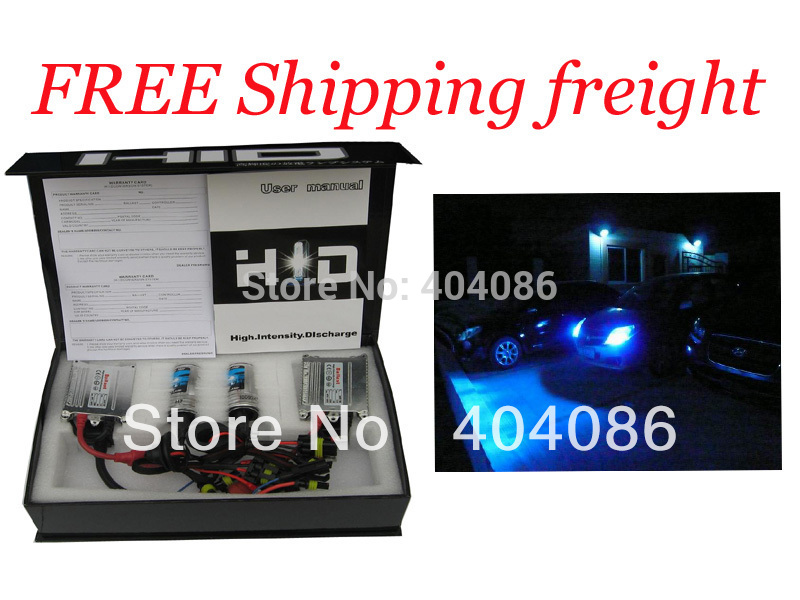H4 H1 H7 H9 H11 9005 9006 25000K Blue color HID AC Slim Kit /Free shipping(China (Mainland))