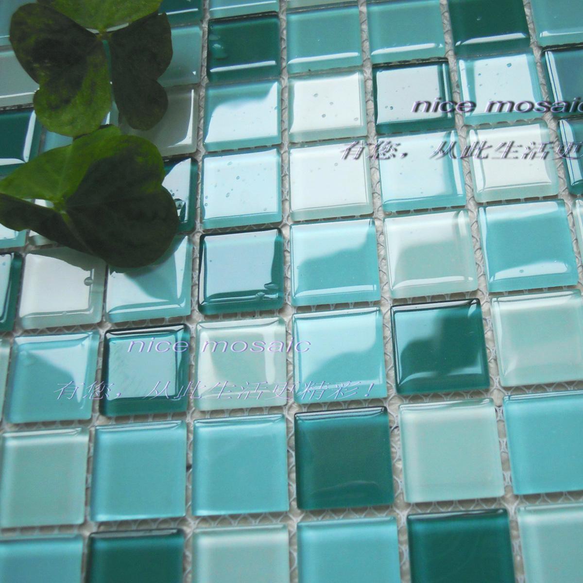 Online kopen wholesale mediterrane tegels uit china mediterrane tegels groothandel - Badkamer blauw ...