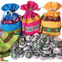 Made in china Green tea flavor mini health tea PU er tea lose weight products wholesale Green food 50pcs