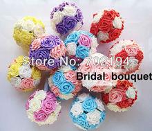 cheap artificial rose ball