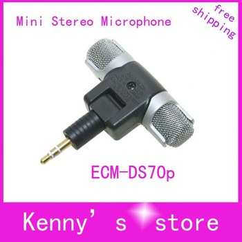 ECM-DS70p Mini Microphone, Mini Stereo Microphone