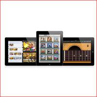 100 Pc/lot Super Slim Precise Cut Clear LCD Screen Protector Guard Film Shield For Apple iPad 2 iPad 3 iPad 4