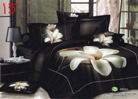 Fragrant Magnolia,3d bedding sets, 100% cotton , Quilt cover /Bed Sheet/pillowcases , king/queen size bedclothes  (baokuan)3