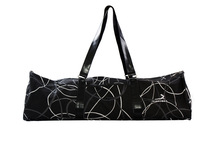 wholesale bargain price woman Yoga Bags Big/ pure cotton /geometry design /Black and white mixed color Free Shipping