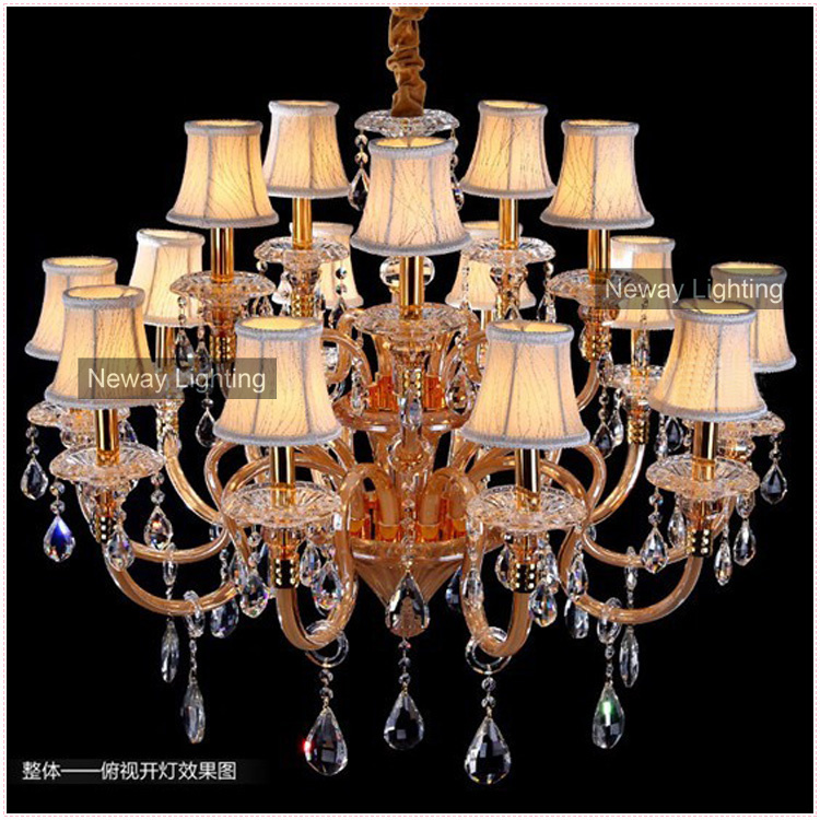 Free Shipping Contemporary Light Fixtures Crystal Chandelier Wedding Centerpieces Decor at Wholesale Price (Model CC-N044-15)(China (Mainland))