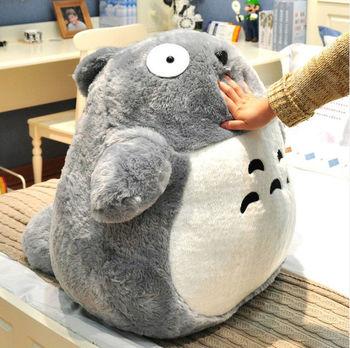 "Free Shipping Soft Plush Toy Pillow 40CM/16"" My Neighbor Totoro Plush Pillow Stuffed Toys Lovely Birthday/Christmas Gift"