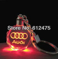 custom 2D laser Crystal keychain souvenir event & party holiday festive supplies wedding party home decoration gift box chevron