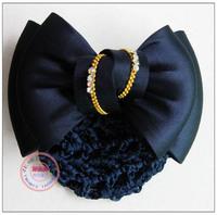 Hair accessory blue bow hairpin hair accessory