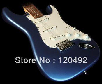 Free shipping no case Custom Shop '60s Stratocaster NOS Electric Guitar Lake Placid Blue 04216