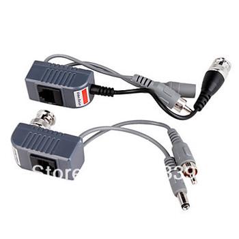 UTP Power Video Audio Balun Transceiver