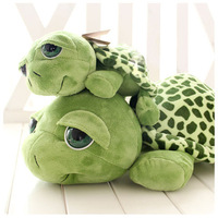 Free shipping and Fashion  green turtle doll plush toy small turtles russ Tortoise