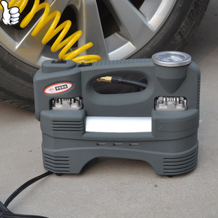 12V 220W Air Compressor Portable Tire Inflator, Electric Air Pump Inflator, Tire Inflator Air Compressor Car Auto Portable Pump(China (Mainland))