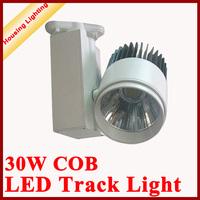 Newly Developed 30W COB LED Track Light, Adopting Cold-chamber Die Casting Aluminum Heat Radiator, New LED Track Lamp
