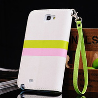 For samsung   n7100 mobile phone case note 2 cell phone case mount protective case around open