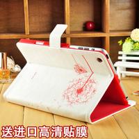 For apple    for ipad   mini case protective genuine leather quality mini ipadmini holsteins